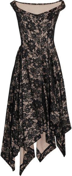 Saturday Asymmetric Lace Dress - Lyst   jaglady