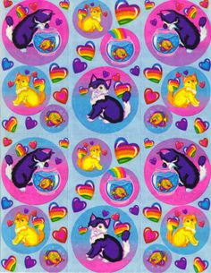 Tell me this picture doesn't make your heart beat faster??  OH GOD I LOVE YOU LISA FRANK!