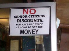 Some Gordons Bay humour. Thanks to Liz Sanders for this snap from a harbour pub. Facebook Status Update, Funny Facebook Status, Funny Signs, A Funny, Funny Shit, Senior Citizen Discounts, Living Water, One Job, Day Work