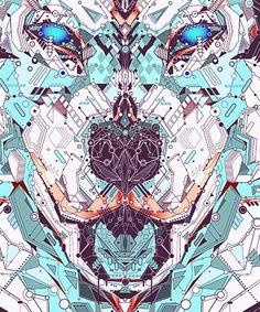 Electro Animals by Yo Az