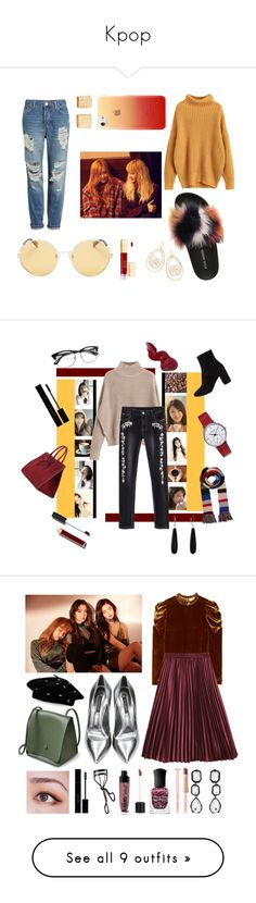 """Kpop"" by kpoooop ❤ liked on Polyvore featuring Topshop, Steve Madden, Polaroid, CYLO, Ippolita, Forever 21, Bobbi Brown Cosmetics, Bling Jewelry, Balenciaga and Burberry"