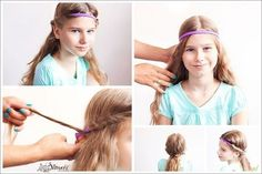 tutoriale-coafuri-fetite-17 Little Girl Hairstyles, Little Girls, Long Hair Styles, Beauty, Color, Hair Tutorials, Kids, Fashion, Young Children