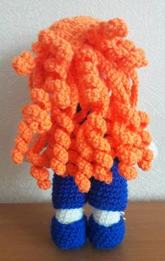 Crochet Julie doll amigurumi pattern - free