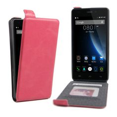Flip Vertical Magnetic PU Leather Phone Case Back Up Down Wallet Card Slot Holder Cover Pouch for Doogee X5 X5 Pro