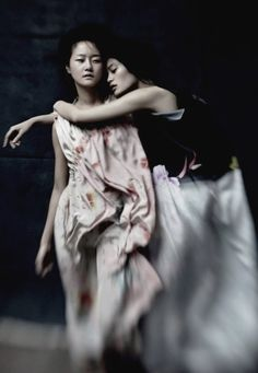 ming xi & hyoni kang by will davidson for dazed & confused