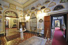 Terrace Hall - Viti Palace Museum, Volterra, Tuscany, Italy