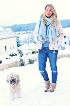 Fashion Kitchen: Shearling Jacket & Winter Boots