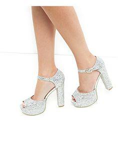 42b584049d6 10 Best Silver Block Heels  Embellishments images