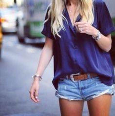 Short/blusa