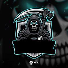86 Likes, 3 Comments - Kristian Nicho Team Logo Design, Logo Desing, Mascot Design, Picture Logo, Photo Logo, Hacker Logo, Mobile Logo, Esports Logo, Skull Logo