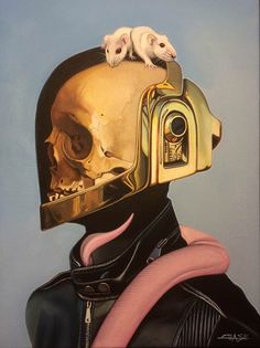 Galería expone ilustraciones inspiradas en Daft Punk