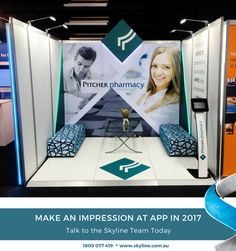 #APP2017 #ExhibitingPartner #ConferenceBoothDesign #Skyline