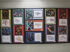 Awesome idea - Expressive lines with a Wordle this would be great for 2nd grade's art unit next year