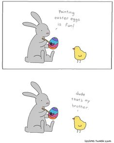 quick and funny Easter comic by Liz Climo