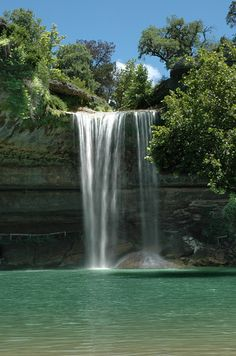 Hamilton Pool, Texas - Located just outside of Austin, Hamilton Pool was created when the dome of an underground river collapsed due to massive erosion thousands of years ago.