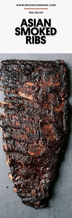 Smoky, spicy, tangy - all around amazing. Blow away your friends and neighbors with these incredible, fall-apart tender pork ribs this summer! #Bbqribs