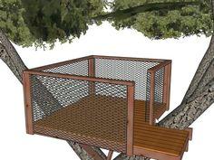 a tree house step by step