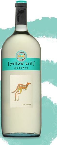 Yellow Tail Moscato -<3