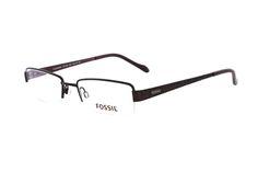 FOSSIL Plainview OF 1204 500 Brille in braun  | Diese Teilrandbrille von Fossil unterstreicht einen frischen, pfiffigen Style! Die aus Metall gefertigte Brille lässt sich dank der hochwertigen Verarbeitung super leicht tragen. Stilvoll, lässig und lebendig - mit dieser Brille machen...