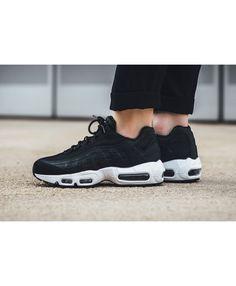 07434e9c964 Nike Air Max 95 Premium Black Summit White Shoes Sale