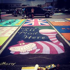 Senior parking spot! Wish my school was cool enough to let us do this