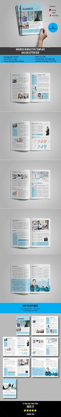 Multipurpose Business Newsletter Template - Newsletters Print Templates Download here : http://graphicriver.net/item/multipurpose-business-newsletter-template/16126900?s_rank=7&ref=Al-fatih