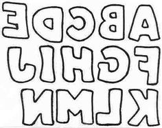 Free Printable Block Letters and Titles: Free Printable Block Letters - Hand Drawn Style A-N