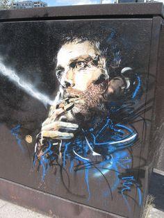 C215 Murals Street Art, Street Art Graffiti, Public Art, Cool Artwork, Walls, Portraits, Christian, Places, Artist