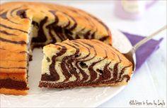 Torta+zebrata+alla+panna,+passo+passo