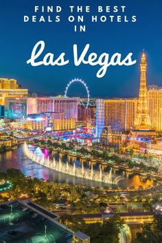 Find the best deals on hotels in Las Vegas at BookingBuddy!