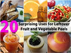 Eating fresh fruits and vegetables is healthy and delicious. If you tend to eat quite a few veggies and fruits, you may notice that you often have loads of peelings left over. While you could always simply throw those peels away, there are better uses for them, some of them which may...