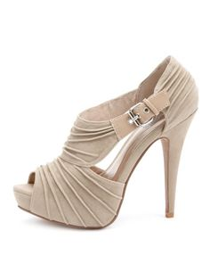 Charlotte Russe shoe for wedding. Like, Repin, Share, Follow! Thanks :)