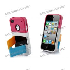 iPhone 4S Hard Cases - with colorful stand!