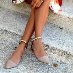 zara pointed shoes with ankle strap