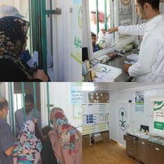 صيدلية العيادات التخصصية السعودية تصرف (479) وصفة طبية خلال الأسبوع الـ 193 في #مخيم_الزعتري . #واس www.watny1.com