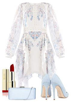 """""""Statement Style"""" by burtiva ❤ liked on Polyvore featuring BCBGMAXAZRIA, Dee Keller, Hobbs, red and lips"""