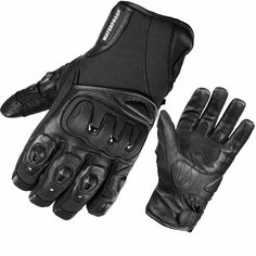 The Black Spike WP Waterproof Motorcycle Gloves are an affordable glove that both look great and offer excellent value for money. Between the sporty look of the glove with it's waterproof liner- its a versatile and worthy choice for any biker.