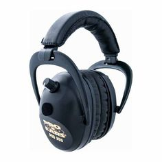 Pro Ears 300 Electronic Ear Muffs Hearing Protection NRR Black for sale online Electronic Ear Muffs, Sporting Clays, Hunting Stores, Shooting Accessories, Shooting Range, Noise Reduction, Earmuffs, Black Models