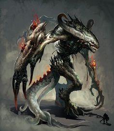 Taketsu in full demonic form.