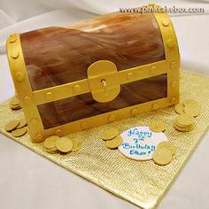 Pirates Treasure Chest Cake » Birthday Cakes