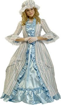 Deluxe Martha Washington Adult Costume – Colonial Costumes « Mutant Faces