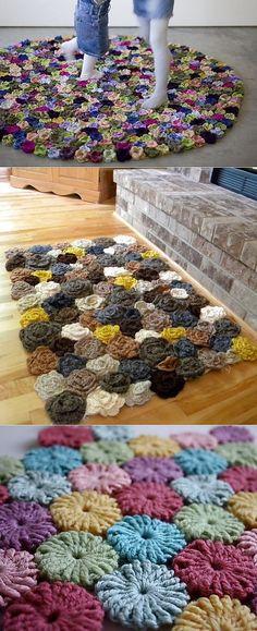 Цветочные коврики кр