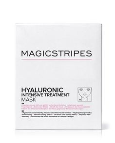 Hyaluronic Intensive Treatment Mask (3) by magicstripes