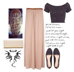 """""""283"""" by ridamahilv ❤ liked on Polyvore featuring Miss Selfridge, Pull&Bear and Yves Saint Laurent"""