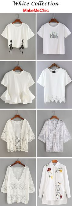 White Collection at makemechic.com