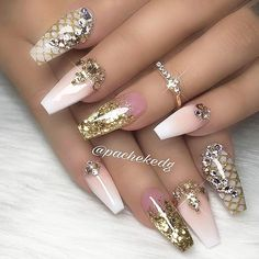 """6,700 Likes, 27 Comments - NAIL INSPO (@theglitternail) on Instagram: """": Picture and Nail Design by •• @pachekedg •• Follow @pachekedg for more gorgeous nail art…"""""""