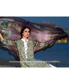 Stitched Lawn Dresses 2015 Online By Designer HSY