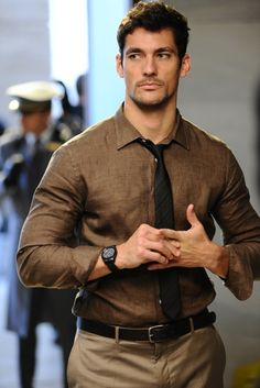 ♂ Men's fashion Masculine & elegance David Gandy in neutrals