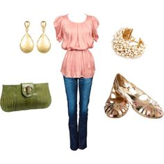 I love this outfit for a going out night..I have jeans just like those...now i need that shirt!!