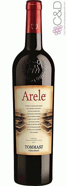 Folgen Sie diesem Link für mehr Details über den Wein: http://www.c-und-d.de/Veneto/Arele-Appassimento-2013-Tommasi-Viticoltori_54480.html?utm_source=54480&utm_medium=Link&utm_campaign=Pinterest&actid=453&refid=43 | #wine #redwine #wein #rotwein #veneto #italien #54480